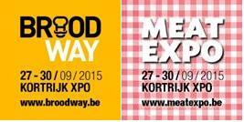 Broodway en Meat Expo van 27 tot 30 september in Kortrijk Xpo