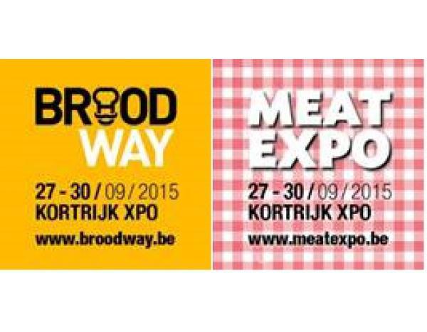 Broodway et Meat Expo du 27 à 30 septembre à Kortrijk Xpo